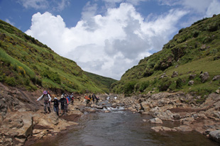 Landscape in the Simien trek – to a large gallery picture