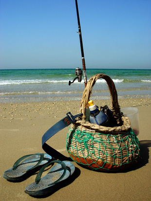 A fisherman's basket – to a large gallery picture