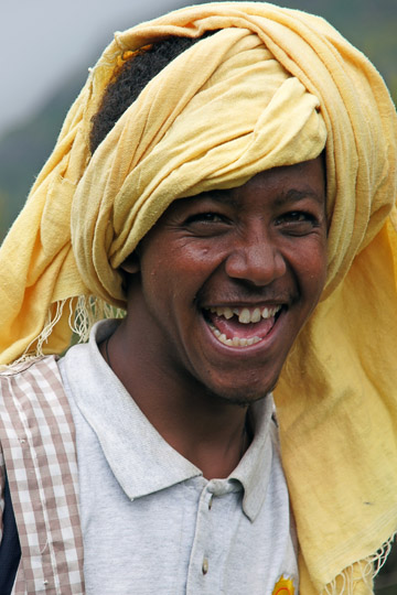 Local team member, Simien Mountains National Park 2012