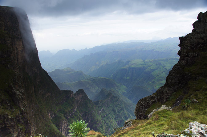The mighty cliffs of The Great Rift Valley in east Africa ...