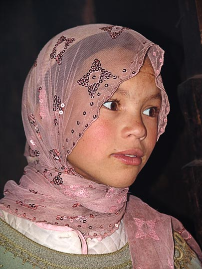 A gorgeous young Berber girl, Iabassene village 2007