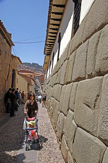 The great Inca wall, Cusco 2008