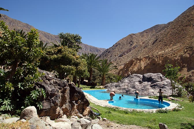 The Colca canyon oasis, 2008