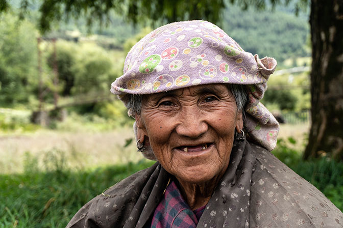 A woman in Tang Valley, 2018