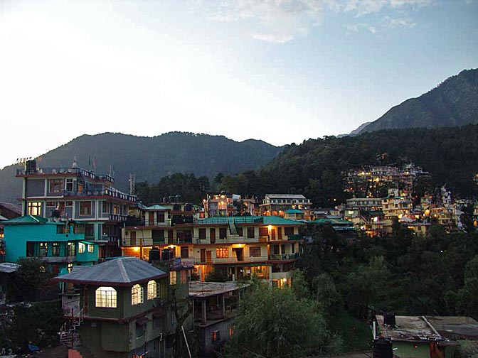 Twilight Time in McLeod Ganj, 2004