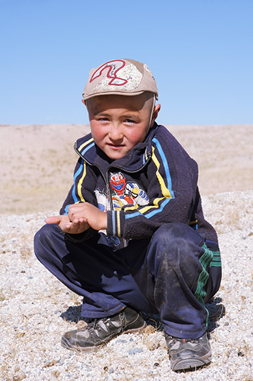 A child of nomadic shepherds family, 2014