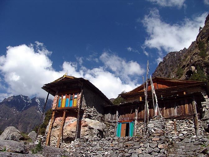 The Tashicholing Gompa in Ghunsa, 2006