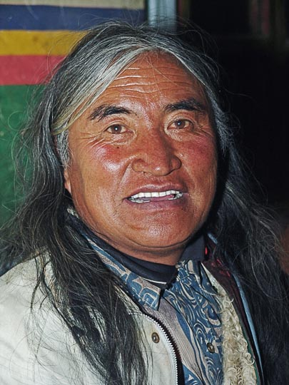A Tibetan man from Lhasa, Tibet, China 2004