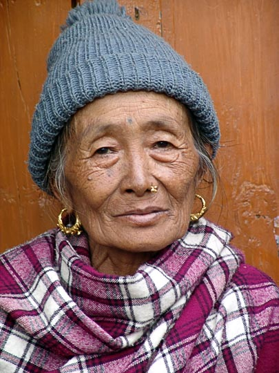 Nana in Jiri, along the Khumbu Trail to the Everest, Nepal 2004