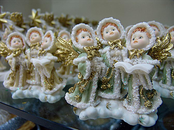 Christmas dolls in Nazareth, Israel 2005
