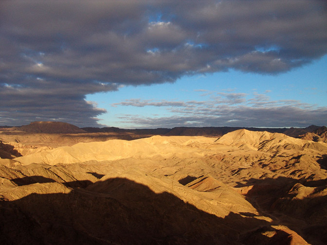 Sunset in Eilat Mountains, 2006