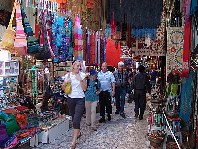 The David street bazaar, The Old City 2006