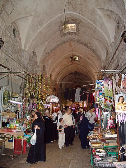 The roofed Cotton Merchants Market, The Old City 2006