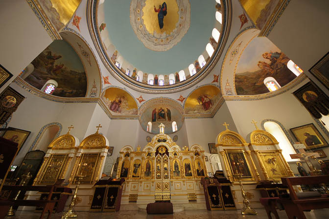 The Russian Orthodox Monastery of Ascension (Starodevichy Convent or Old Maiden's), Mount of Olives 2012