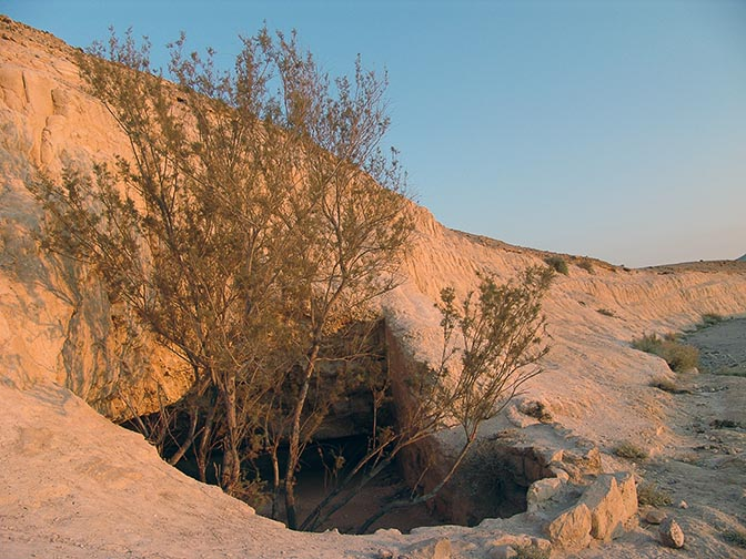The water hole in Charabat Mankushiye, Israel 2006