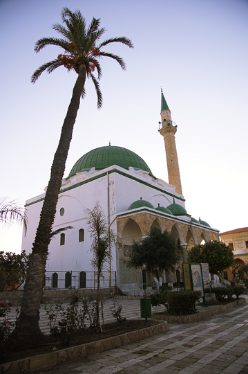 The Jezzar Pasha Mosque (the white mosque), the old city of Acre 2011