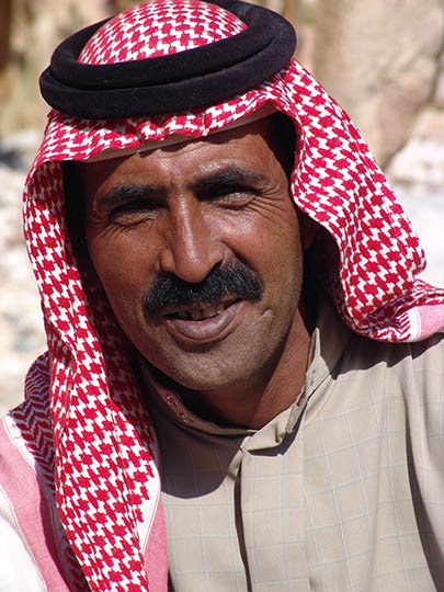 Auda Farage the Bedouin, Wadi Aheimir 2006