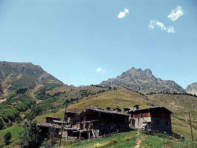 The small village of Amaneskit, 2005