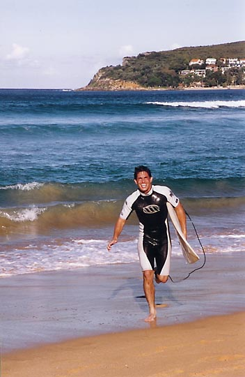 Eyal in Manly Beach, North Sydney, New South Wales 2000