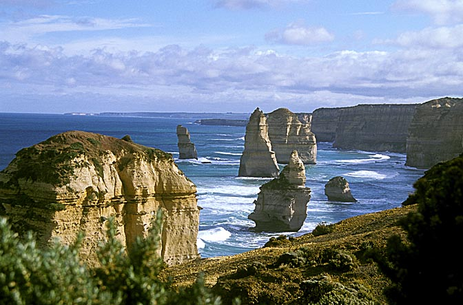 The Twelve Apostles along the Great Ocean Road, Victoria 1999