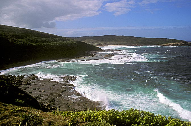 Wybung Head on the coastline between Sydney and Newcastle, New South Wales 2000
