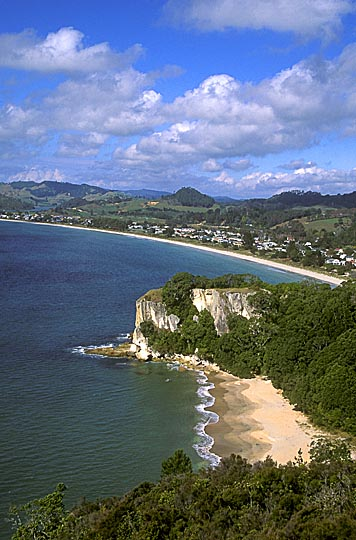 The landscape from Shakespeare Cliff in the Coromandel Peninsula, the North Island 1999