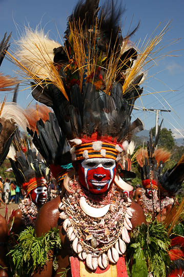 A man from Hagen Central in the Western Highland Province, at The Goroka Show 2009
