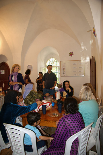 Lunch at 'Shevet Achim' House, Jerusalem 2011