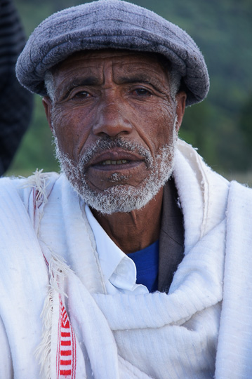 One of the elders of the community of Deber Tabor village, 2012