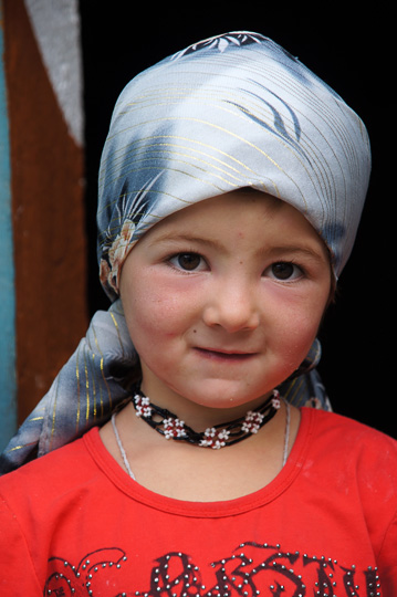 Girl at the Home Stay in Yamchun, The Wakhan Corridor 2013