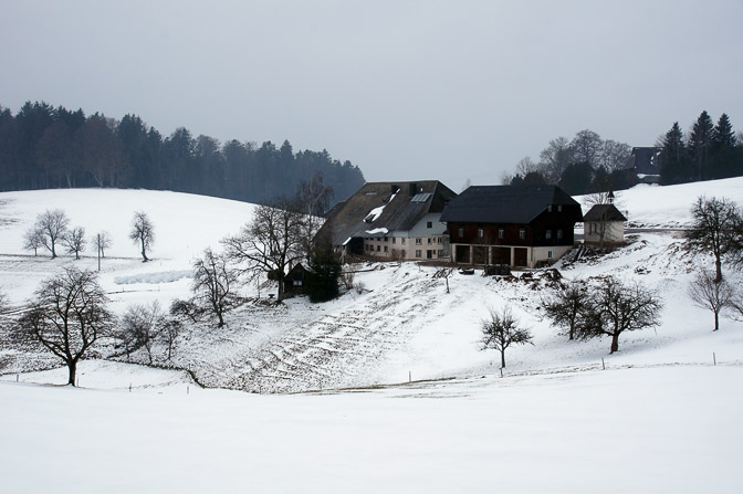 A farm in snow, The Black Forest 2013
