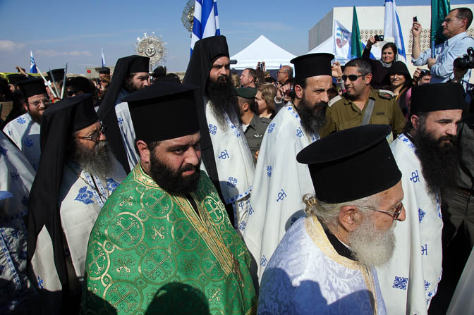 Members of The Greek Orthodox Church of Jerusalem, the Baptismal Site Qasir alYahud 2012