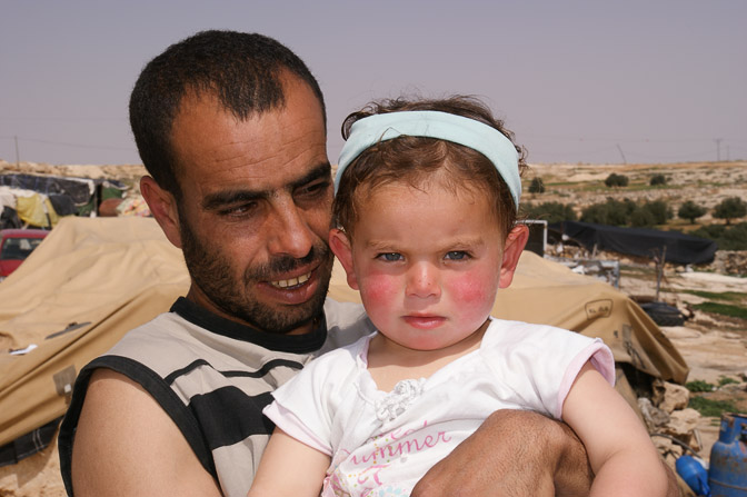Mahmoud and Diala, Palestinians, Susya 2011