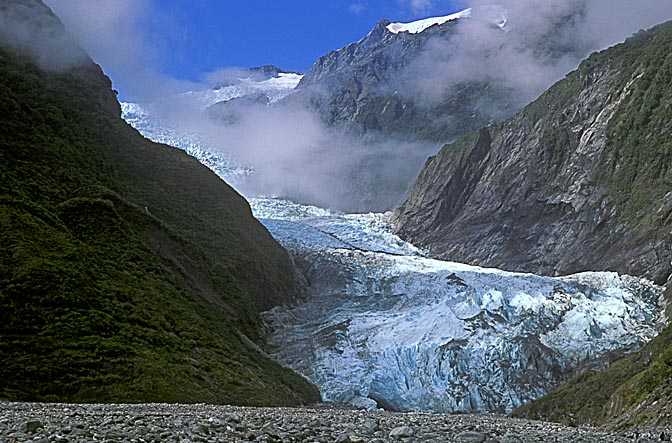 Franz Josef Glacier, the South Island 1999