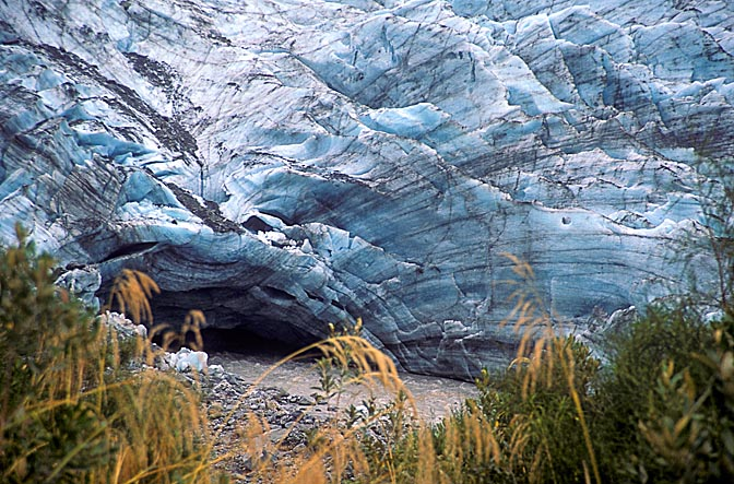 Fox Glacier, the South Island 1999